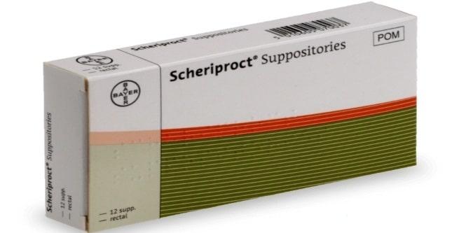 Scheriproct-suppositoires